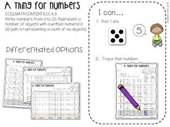 Kindergarten Math Centers ~ Reading Week CCSS 4