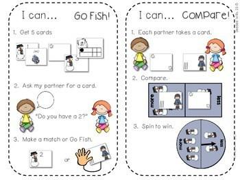 Kindergarten Math Centers ~ Snowman CCSS 4