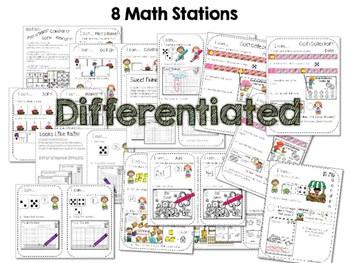 Kindergarten Math Centers ~ Spring 2