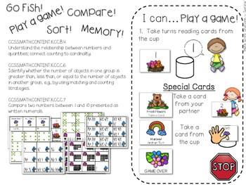 Kindergarten Math Centers ~ Spring 3