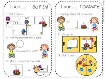 Kindergarten Math Centers ~ Spring 4