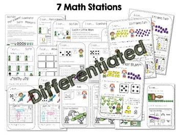 Kindergarten Math Centers ~ St. Patrick's Day 2