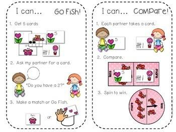Kindergarten Math Centers ~ Valentine's Day 4
