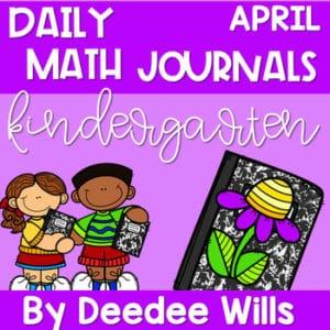 Literacy Journal Prompts for Kindergarten | Apr 7