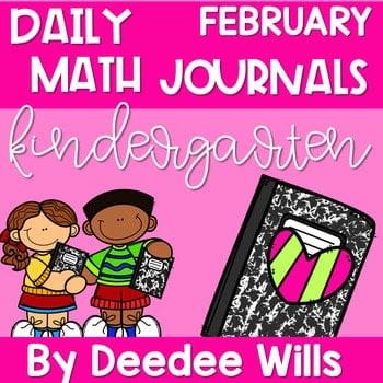 Kindergarten Math Journal Prompts   FEBRUARY 1