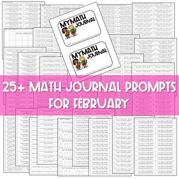 Kindergarten Math Journal Prompts   FEBRUARY 3
