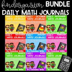 Literacy Journal Prompts for Kindergarten | BUNDLE 8