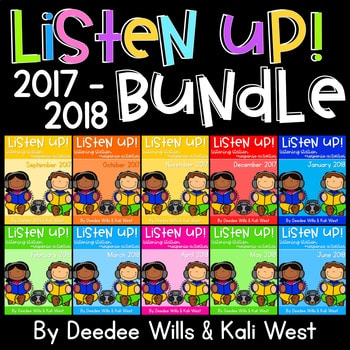 Listening Center: Listen UP! 2017-2018 K and 1st Retired Set 1