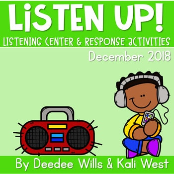 Listening Center: Listen UP! 2018-2019 K and 1st December 1