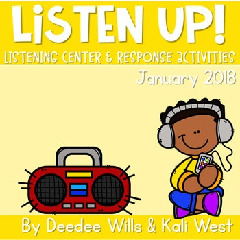 Listening Center: Listen UP! 2018-2019 K and 1st January 1