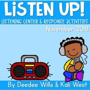 Listening Center: Listen UP! 2018-2019 K and 1st November 1