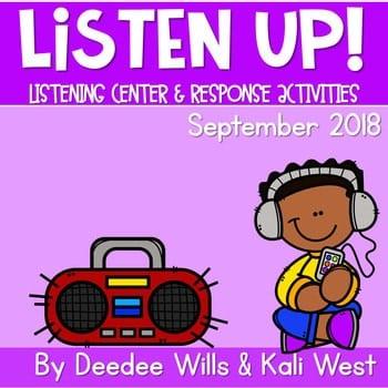 Listening Center: Listen UP! 2018-2019 K and 1st September 1
