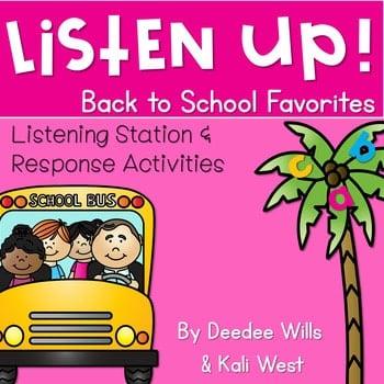 Listening Center: Listen UP! Back to School 1