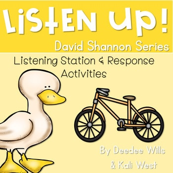 Listening Center: Listen UP! David Shannon 1