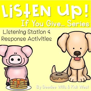 Listening Center: Listen UP! Laura Numeroff Series 1