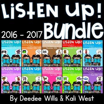 Listening Center-Listen UP! RETIRED 2016-2017 K and 1st 1