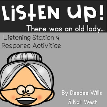 Listening Center-Listen UP! There Was an Old Lady Series 1