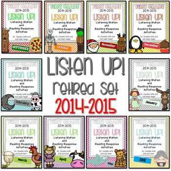 Listening Center RETIRED: Listen UP! 2014 - 2015 FIRST GRADE set 1