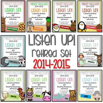 Listening Center RETIRED: Listen UP! 2014 - 2015 FIRST GRADE set 1
