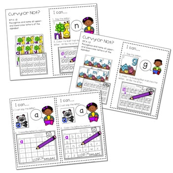 Literacy Centers: Letters and Print Concepts 3
