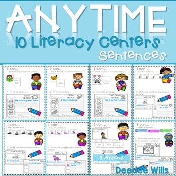 Literacy Centers: Sentences 1