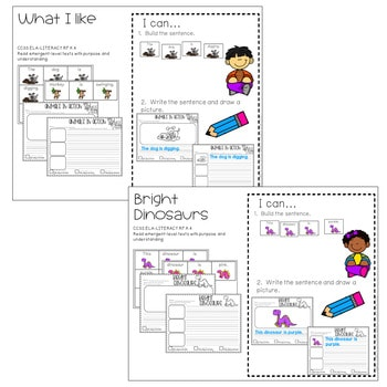Literacy Centers: Sentences 4