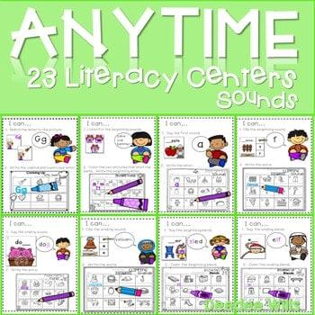 Literacy Centers: Sounds 1