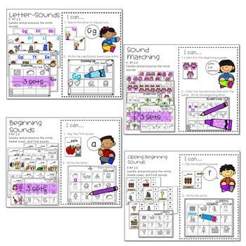 Literacy Centers: Sounds 2