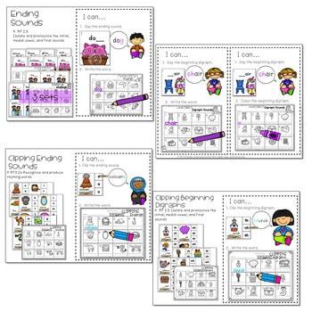 Literacy Centers: Sounds 3