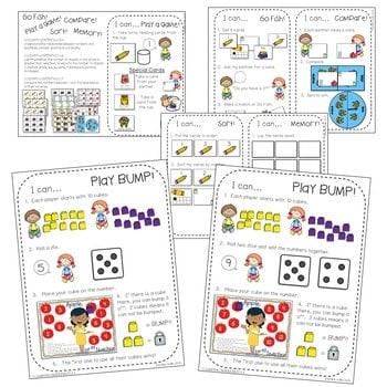 Math Centers for Kindergarten | Back to School 2