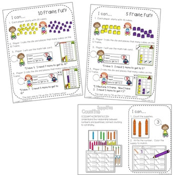 Math Centers for Kindergarten | Back to School 4