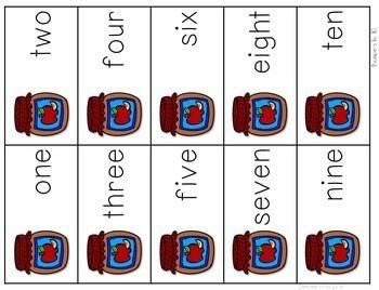 Math Fluency: Apple Days Editable 3