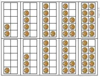 Math Fluency: Christmas Cookies Editable 3