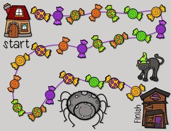 Math Fluency: Halloween editable 3