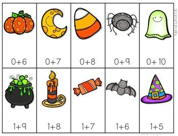 Math Fluency: Halloween editable 4