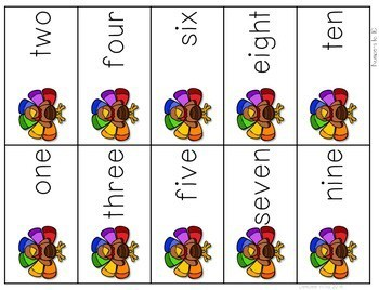 Math Fluency: Harvest Time Editable 3
