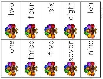 Math Fluency: Harvest Time Editable 3