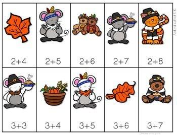 Math Fluency: Harvest Time Editable 4