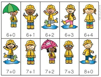 Math Fluency: Spring Editable 4