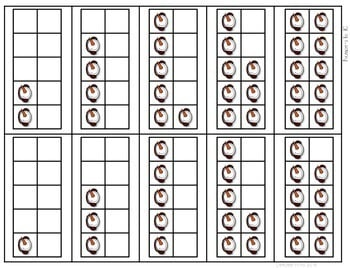 Math Fluency: Winter Editable 3