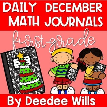 Math Journal Prompts for First-Grade | DECEMBER 1