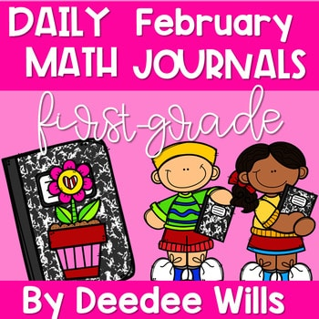 Math Journal Prompts for First-Grade | FEBRUARY 1