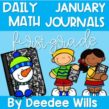 Math Journal Prompts for First-Grade | JANUARY 1