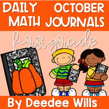 Math Journal Prompts for First-Grade | OCTOBER 1