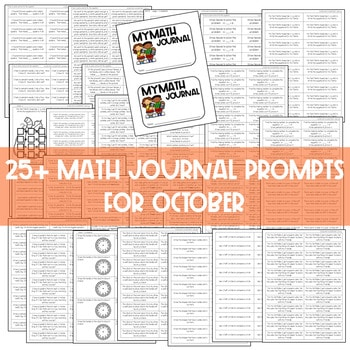 Math Journal Prompts for First-Grade | OCTOBER 3