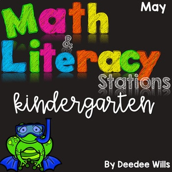 Math and Literacy Center Activities for May 1