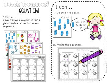 Math and Literacy Center Activities for May 4