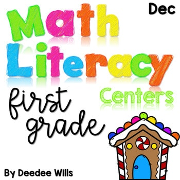 Math and Literacy Center Activities-First Grade December 1