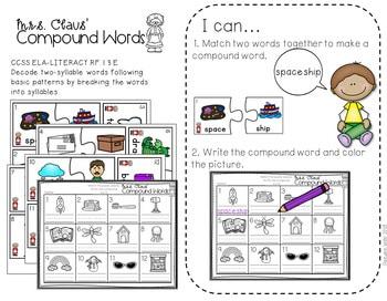 Math and Literacy Center Activities-First Grade December 4