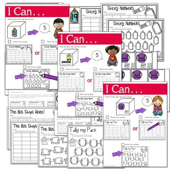 Math and Literacy Center: Just Roll With It: August/September-editable 3